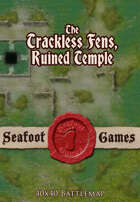 Seafoot games maps - Trackless fens swamp, the ruined temple