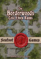 Seafoot games maps - The Borderwoods, lost elven ruins
