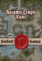 Seafoot Games – Ruins of Basumot Temple (40x40 Battlemap)