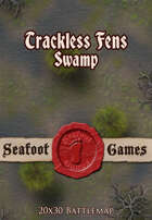 Seafoot Games - Trackless Fens Swamp (20x30 Battlemap)