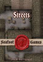 Seafoot Games - Streets (20x30 Battlemap)