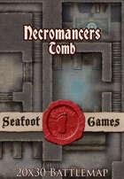 Seafoot Games - Necromancers Tomb (20x30 Battlemap)
