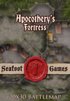 Seafoot Games - Apocothery's Fortress (20x30 Battlemap)