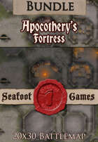Seafoot Games - Apocothery's Fortress (20x30 Battlemap) [BUNDLE]