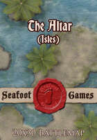 Seafoot Games - The Altar (Isles) | 20x30 Battlemap