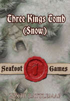 Seafoot Games - Three Kings Tomb (Snow) | 20x30 Battlemap