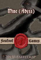 Seafoot Games - Mine (Abyss) | 20x30 Battlemap