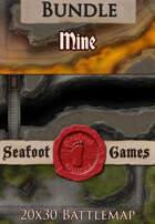 Seafoot Games - Mine | 20x30 Battlemap [BUNDLE]