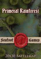 Seafoot Games - Primeval Rainforest | 20x30 Battlemap