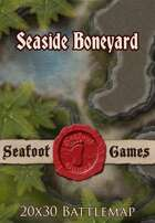Seafoot Games - Seaside Boneyard | 20x30 Battlemap