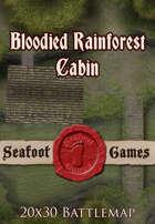 Seafoot Games - Blooded Rainforest Cabin (Exterior) | 20x30 Battlemap