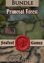 Seafoot Games - Primeval Rainforest | 20x30 Battlemap [BUNDLE]