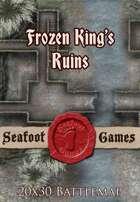 Seafoot Games - Frozen King's Ruins | 20x30 Battlemap