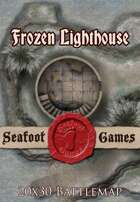 Seafoot Games - Frozen Lighthouse | 20x30 Battlemap