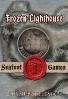 Seafoot Games - Frozen Lighthouse | 20x30 Battlemap