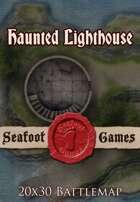 Seafoot Games - Haunted Lighthouse | 20x30 Battlemap