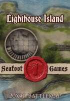 Seafoot Games - Lighthouse Island | 20x30 Battlemap