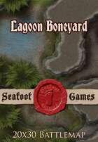 Seafoot Games - Lagoon Boneyard | 20x30 Battlemap
