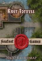 Seafoot Games - River Fortress | 20x30 Battlemap
