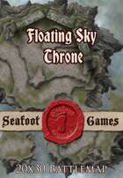 Seafoot Games - Floating Sky Throne | 20x30 Battlemap