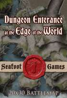 Seafoot Games - Dungeon Entrance at the Edge of the World | 20x30 Battlemap