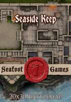 Seafoot Games - Seaside Keep | 20x30 Battlemap
