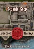 Seafoot Games - Seaside Keep   20x30 Battlemap