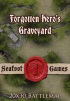 Seafoot Games - Forgotten Hero's Graveyard | 20x30 Battlemap