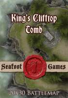 Seafoot Games - King's Clifftop Tomb | 20x30 Battlemap
