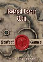 Seafoot Games - Isolated Desert Well | 20x30 Battlemap