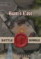 Seafoot Games - Giant's Cave | 20x30 Battlemap [BUNDLE]