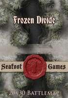 Seafoot Games - Frozen Divide | 20x30 Battlemap