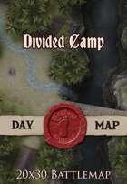 Seafoot Games - Divided Camp | 20x30 Battlemap