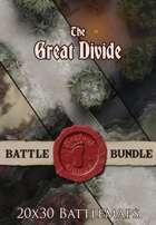 Seafoot Games - The Great Divide   20x30 Battlemap [BUNDLE]