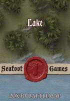 Seafoot Games - Lake   20x30 Battlemap
