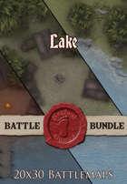 Seafoot Games - Lake   20x30 Battlemap [BUNDLE]