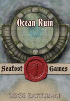 Seafoot Games - Ocean Ruins | 20x30 Battlemap