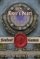 Seafoot Games - The River's Heart | 20x30 Battlemap