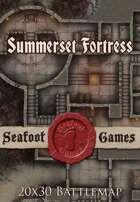 Seafoot Games - Summerset Fortress | 20x30 Battlemap