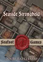Seafoot Games - Seaside Stronghold | 20x30 Battlemap