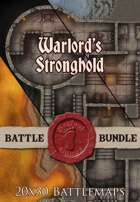 Seafoot Games - Warlords Stronghold | 20x30 Battlemap [BUNDLE]