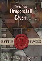 Seafoot Games - Dragonsfall Tavern | 20x30 Battlemap [BUNDLE]