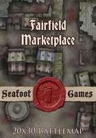 Seafoot Games - Fairfield Marketplace | 20x30 Battlemap