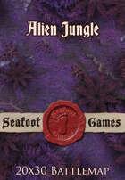 Seafoot Games - Alien Jungle | 20x30 Battlemap
