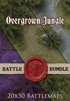 Seafoot Games - Jungle | 20x30 Battlemap [BUNDLE]