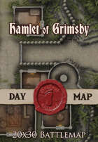 Seafoot Games - Hamlet of Grimsby | 20x30 Battlemap