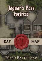 Seafoot Games - Jaguar's Pass Fortress | 20x30 Battlemap