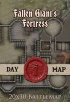 Seafoot Games - Fortress of the Fallen Giant | 20x30 Battlemap