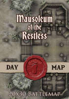 Seafoot Games - Mausoleum of the Restless | 20x30 Battlemap