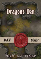 Seafoot Games - Dragons Den | 20x30 Battlemap
